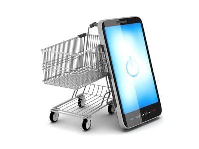 mobil nettbrett nettbutikker netthandel